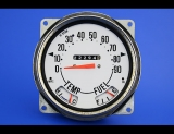 1972-1975 Jeep CJ5 Full Numbers 90 MPH White Face Gauges
