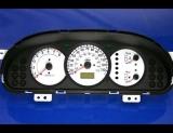 2002-2004 Kia Spectra White Face Gauges 02-04