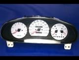 1998-2000 Kia Sportage White Face Gauges