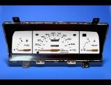 1986-1993 Mazda B2000 B2200 B2600 Truck Non-Tach White Face Gauges