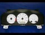 1998-1999 Mazda 626 White Face Gauges