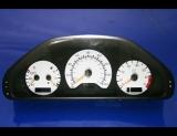 1999-2000 Mercedes C230 White Face Gauges Kompressor W202