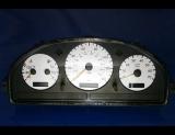 2000-2002 Mercedes ML320 ML430 White Face Gauges 00-02