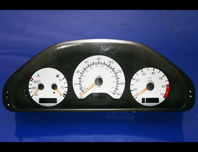 click here for Mercedes white gauges