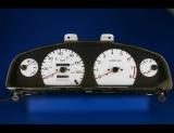 1998-1999 Nissan Sentra Gxe Tach White Face Gauges