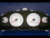 2000-2003 Nissan Sentra METRIC KPH KMH White Face Gauges