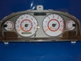 2002-2003 Nissan Sentra SE-R White Face Gauges 02-03
