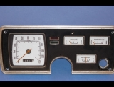 1966 Plymouth Valiant White Face Gauges