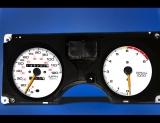 1986-1992 Pontiac Firebird 120 Mph White Face Gauges