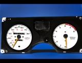 1986-1992 Pontiac Firebird 85 MPH White Face Gauges