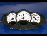 1997-2000 Porsche Boxster White Face Gauges