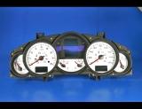 2003-2009 Porsche Cayenne White Face Gauges