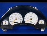1996-1999 Saturn S-Series DOHC Digital White Face Gauges
