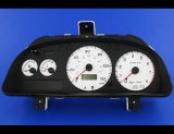1998-2001 Subaru Impreza White Face Gauges