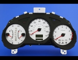 2004 Subaru Forester XT Turbo White Face Gauges