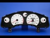 1989-1999 Toyota MR2 160 MPH White Face Gauges
