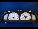 1998 Toyota 4Runner White Face Gauges