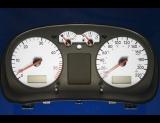 1999-2003 Volkswagen Jetta Golf TDI METRIC KPH KMH White Face Gauges